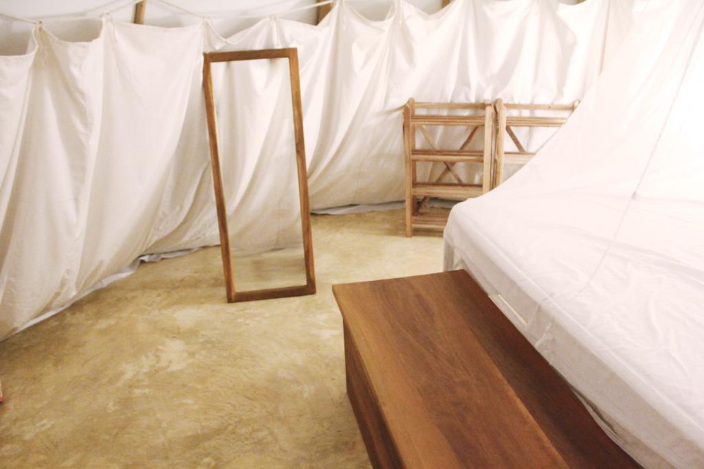 Inside La Mangrove Tipi Hotel Galgibag Beach Goa